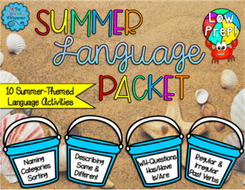Summer Language Packet