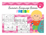Summer Language Scenes - FREEBIE