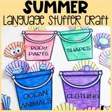 Summer Language Stuffer Craft