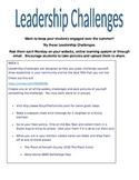 Summer Leadership Challenges
