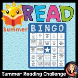Summer Reading Activity Bingo Game for At-Home Learning