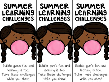 Summer Learning Challenges