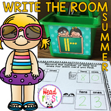 Summer End of the Year Hunts Write the Room I Spy Literacy or Math Centers