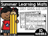 Summer Learning Mats: First Grade Edition Distance Learning