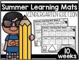 Summer Learning Mats: Kindergarten Edition Distance Learning
