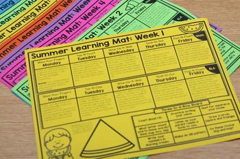 Summer Learning Mats: Pre-K Edition