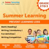 Online Summer Learning Program - Grade 2 to 3 - Worksheets