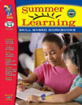 Summer Learning Workbook Grades 3-4