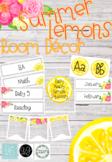 Summer Lemons Room Decor *GROWING BUNDLE*