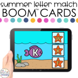 Summer Letter Match Boom™ Cards - Distance Learning for Sp