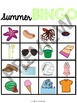 Summer Leveled Bingo Game for Special Education and Autism