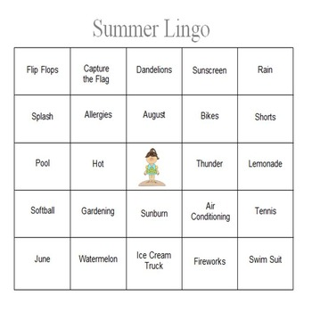 Summer Lingo - An Expressive Language Game