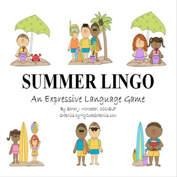 Summer Lingo - An Expressive Language Game