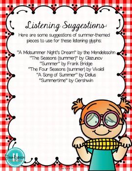 Summer Listening Glyphs