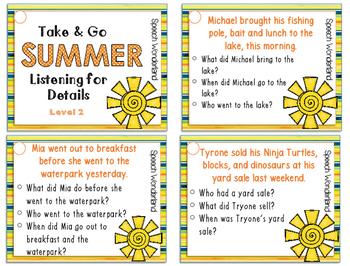 Take & Go Summer Listening for Details