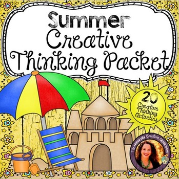 Summer Activities Pack:  20 Summer Activities for Literacy and Creativity