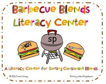 Summer Literacy Center - Barbecue Blends