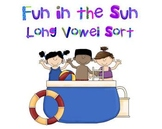 Summer Literacy Center - Long Vowel Sort