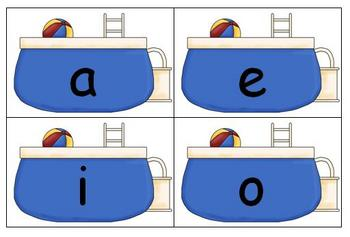 Summer Literacy Center - Long Vowel Sort