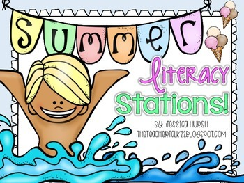 Summer Literacy Stations