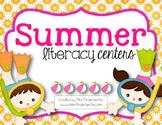 Summer Literacy Centers