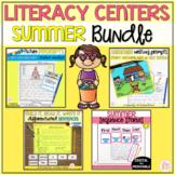 Summer Literacy Centers Bundle