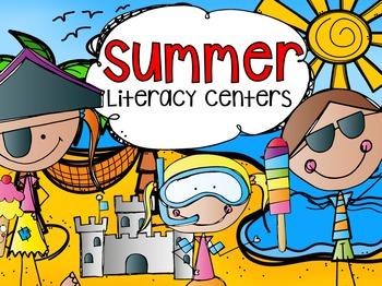 Summer Literacy Centers {CCSS}