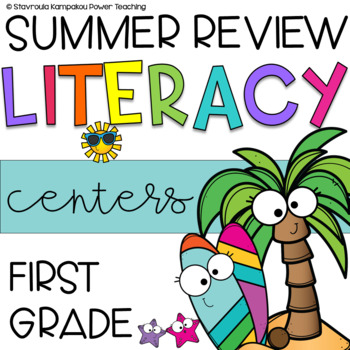 Summer Literacy Packet (Revision and Consolidation)