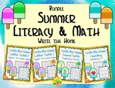 Summer Literacy and Math Bundle | Distance Learning