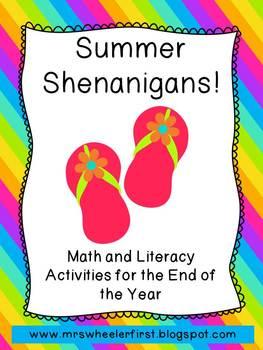 First Grade Centers: Summer