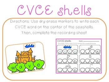 Summer Literacy and Math Centers for Kindergarten (Bundled)