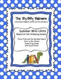 Summer Literature-based Units:  Jump Frog Jump, One Duck Stuck