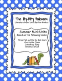 Summer Literature-based Units:  Jump Frog Jump, One Duck Stuck