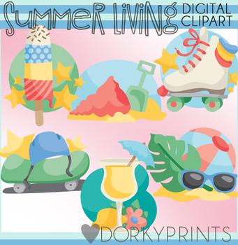 Summer Living Clip Art