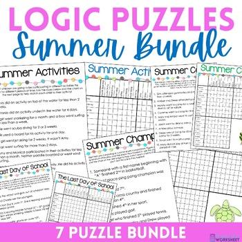 Logic Puzzles - Summer Bundle