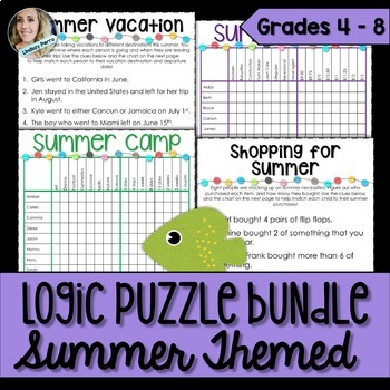 Summer Logic Puzzles