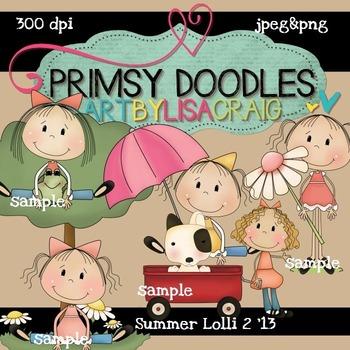 Summer Lolli 2 300 dpi clipart
