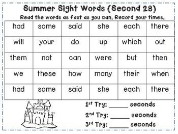 Summer Lovin' 1st Grade Literacy Pack (8 CCSS Centers)
