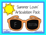 Summer Lovin' Artic: F Freebie!