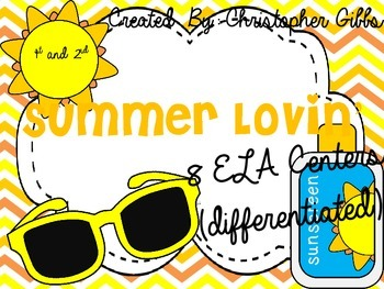 Summer Lovin' ELA Centers Resource Pack