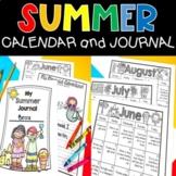 Summer Calendar & Journal