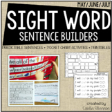 Sentence Building {Sight Word Activities for the End of the Year}