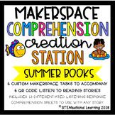 Summer Makerspace STEM Reading Listening Comprehension Cre