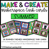 Summer Makerspace STEM Task Cards {Make and Create}