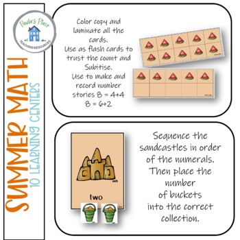 Summer 10 Math Tasks