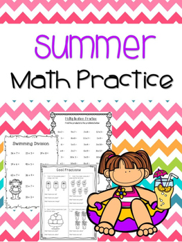 Summer Math Practice Pages