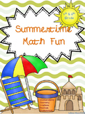 Summer Math:  5th & 6th Grade