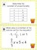 Summer Math Activity - 7th Grade Math Review