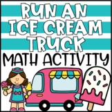 Summer Math Addition & Subtraction Activity | End of Year Math Project