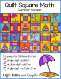 Summer Math Art - Quilt Square